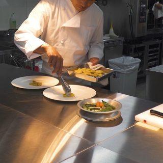 レストラン除菌1